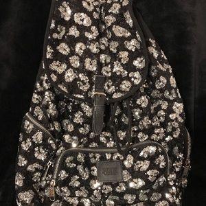 Victoria Secret Leopard Print Bling Backpack